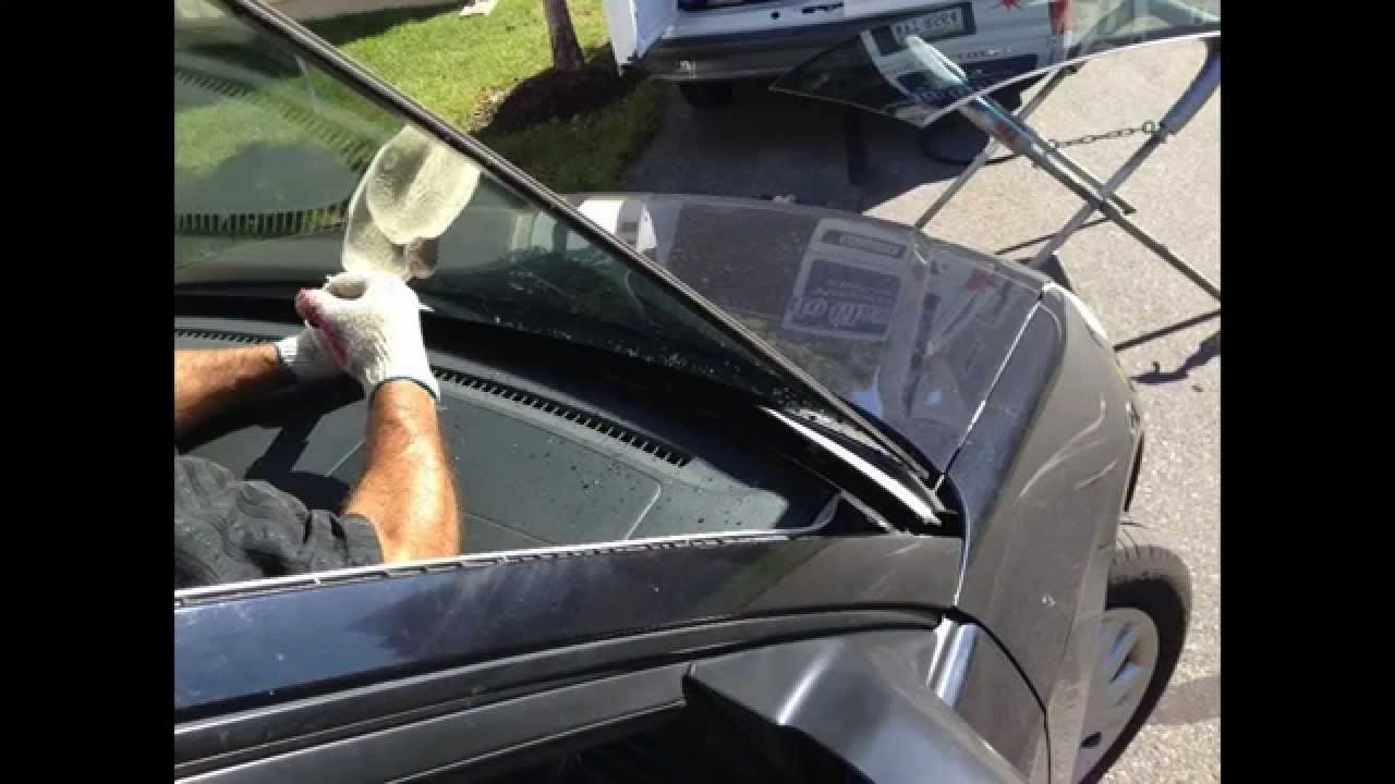2001 05 honda civic windshield replacement youtube