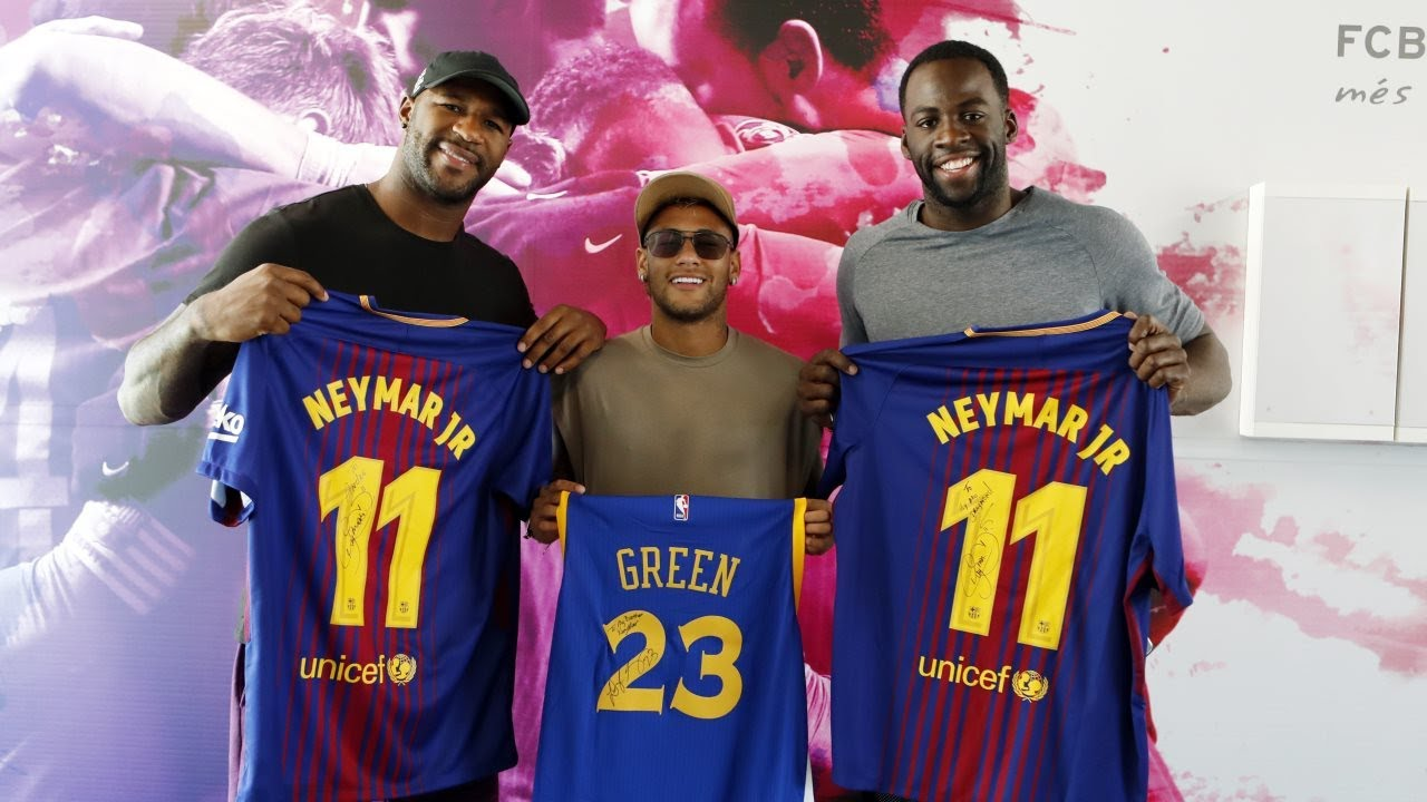 nba-s-green-nfl-s-branch-visit-fc-barcelona