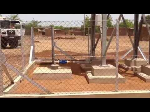 Solar Water Supply system in Mali Financed by The Saudi Fund for Development