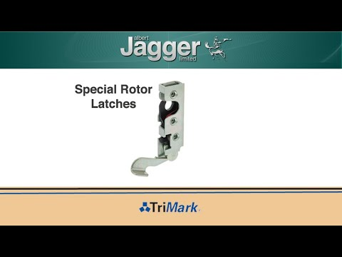 Versatile connectivity with Trimark's special rotor latches