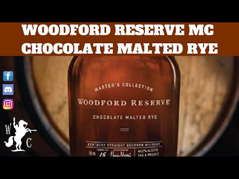 Woodford Reserve Master's Collection Chocolate Malted Rye Kentucky Straight Bourbon.
