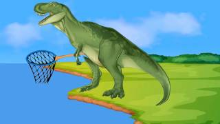 Funny Dinosaurs. Dinosaur Cartoons for children. Dinosaurios dibujos animados by Kids Channel