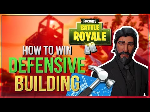 HOW TO WIN | Defensive Building Guide and Tips (Fortnite Battle Royale)