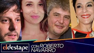 Mengolini, Papaleo, Santoro y Schultz en El Destape con Roberto Navarro EN VIVO