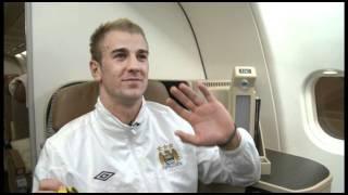 Etihad Airways Manchester City Players Video Shoot