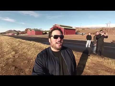 Greg Grunberg's initial Reaction to SkyRunner Takeoff