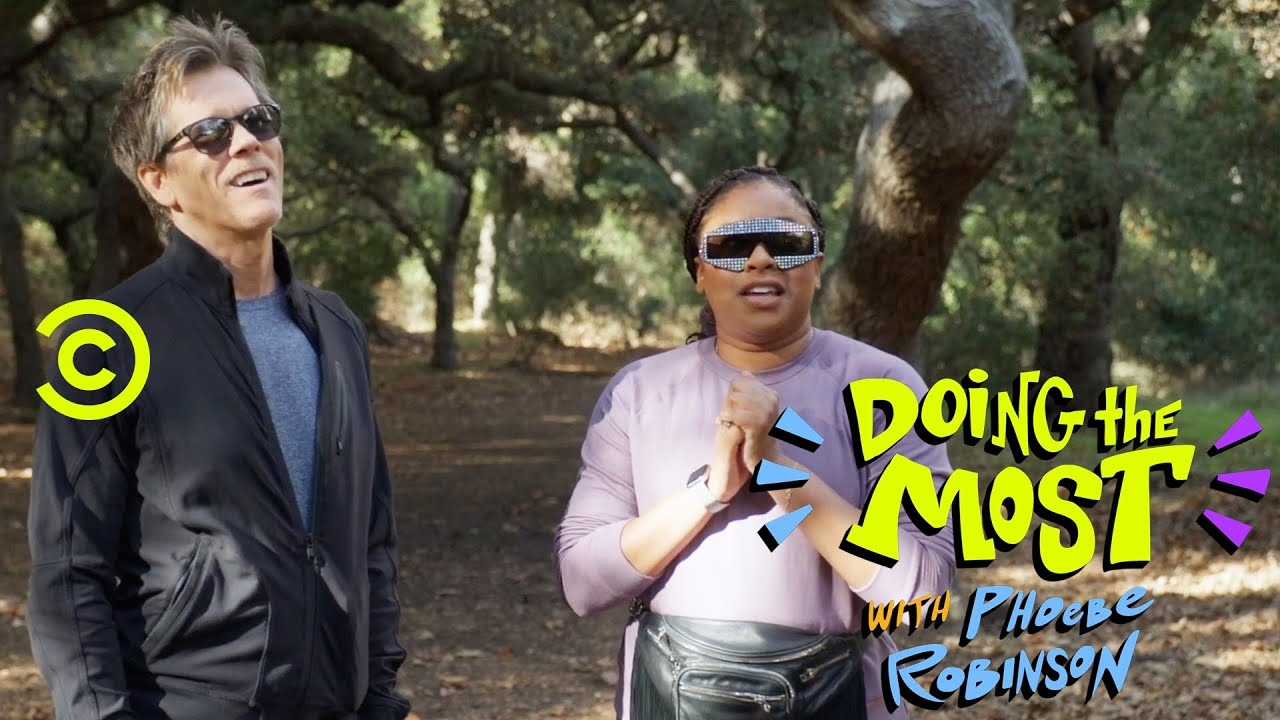 Kevin Bacon Does a Ropes Course - Doing the Most with Phoebe Robinson
