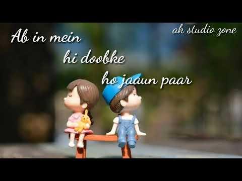Teri Nazron Ne Dil Ka Kiya Jo Hashar //romentic Whatsapp Status Video