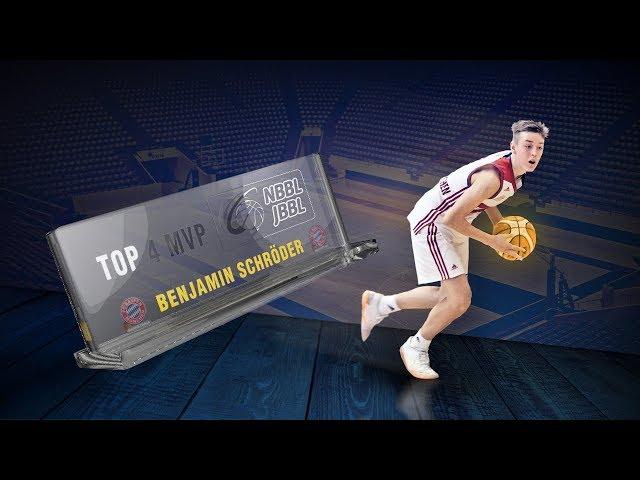 JBBL - TOP4 MVP Benjamin Schröder