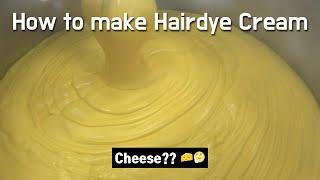 염색약 만드는 과정/How to make hair dy…