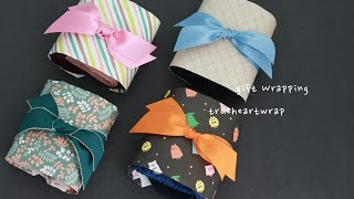 곰손도 가능한 양말 선물포장 하는 법 Gift Wrap…