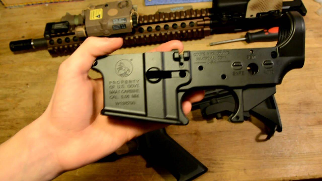 GHK M4 Colt Receiver Review