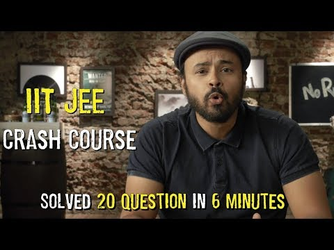 IIT JEE Crash Course | Sorabh Reviews Anything | #NoRules