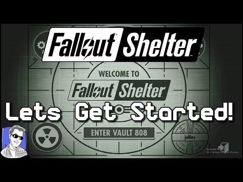 Fallout Shelter Vault 808 - Let's Get Started