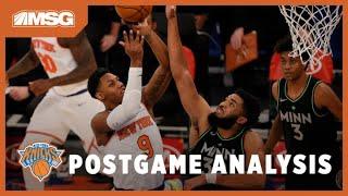 Barrett \u0026 Randle Lead Knicks to Grinding Win vs Minnesota Timberwolves | New York Knicks