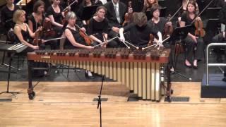 Ney Rosauro - Marimba Concerto no. 2, mov. 3, performed by Antek Olesik