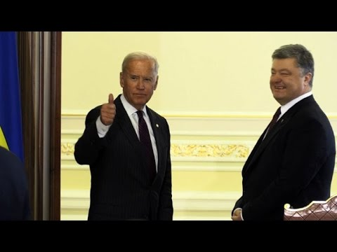 Biden visits Ukraine in show of support