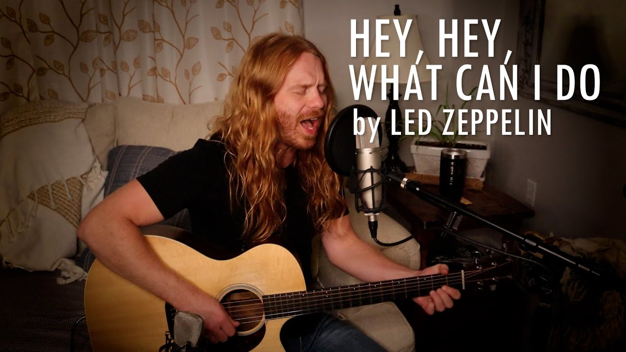 """Hey, Hey, What Can I Do"" by Led Zeppelin - Adam Pearce (Acoustic Cover)"