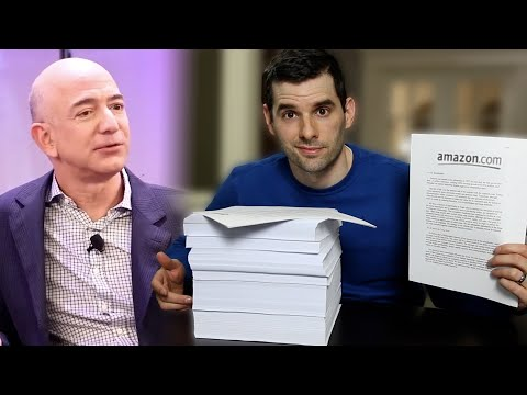 I Read Every Jeff Bezos Annual Letter: Here's What I Learned