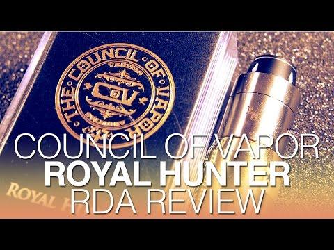 Daily Vape TV- Council of Vapor Royal Hunter RDA Review