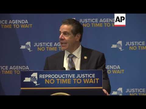 Hillary Clinton, Cuomo tout abortion rights Mp3