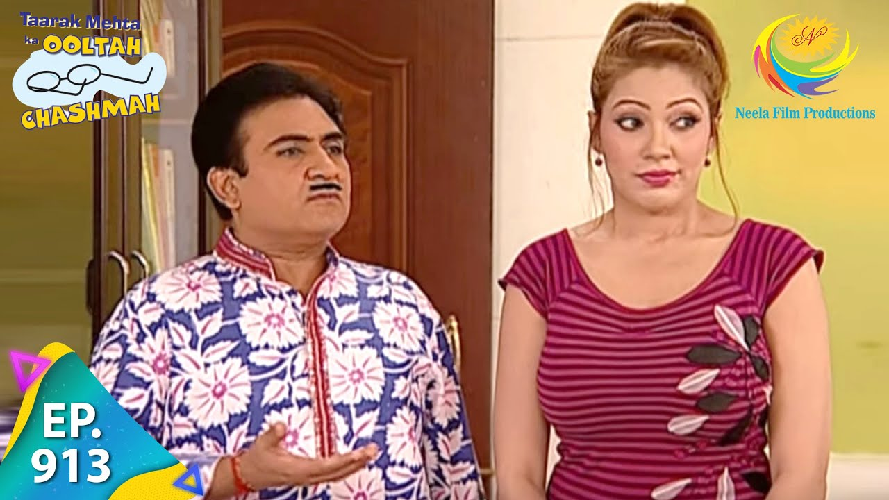 Download Taarak Mehta Ka Ooltah Chashmah - Episode 913 - Full Episode