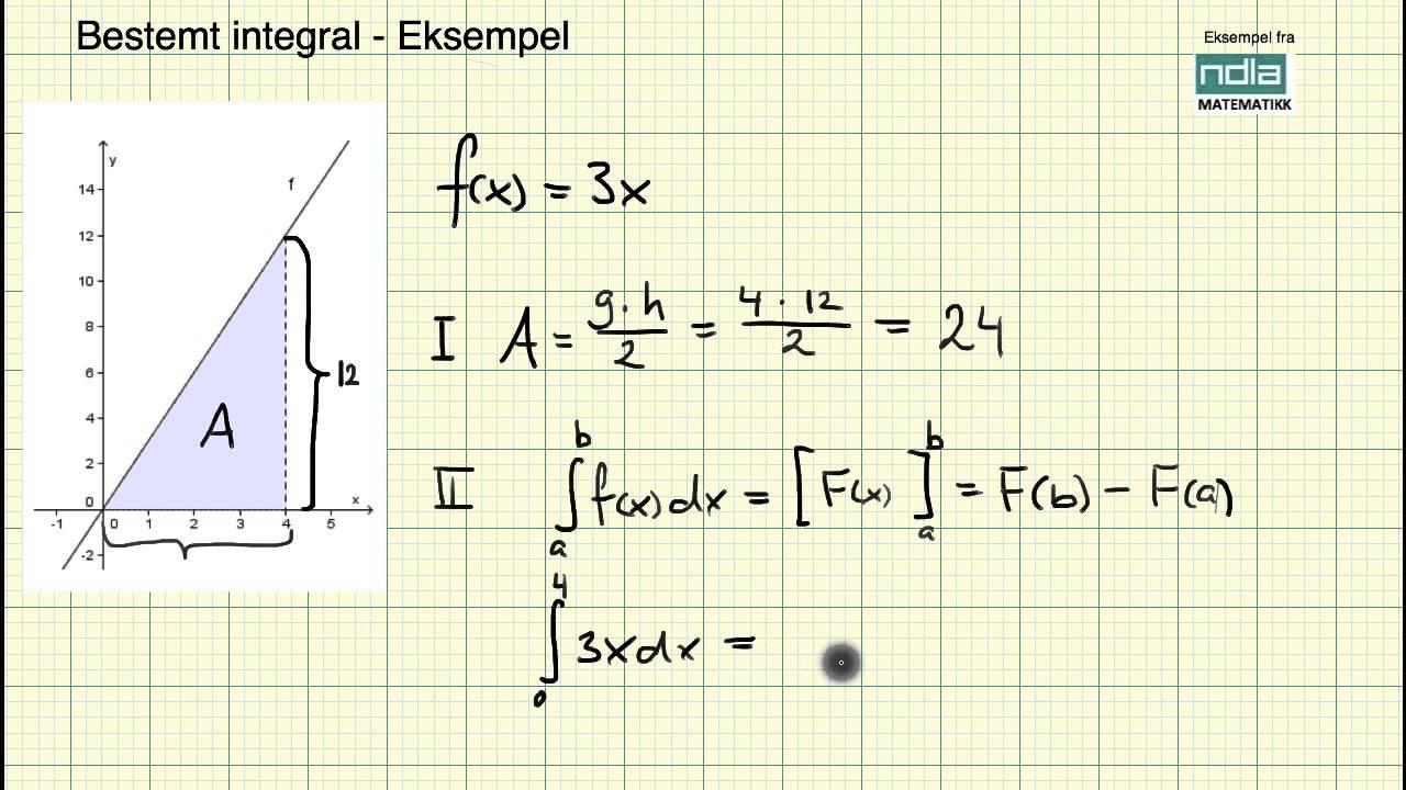 Matematikk R2   Fundamentalsetningen   Eksempel