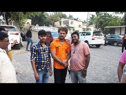 Bhojpuri Movie Dulhan Ganga Paar Ke On Location | Khesari Lal, Kajal Raghwani