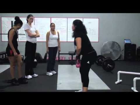 Crossfit Passion Training Video MAN 4350 Professor Cartaya