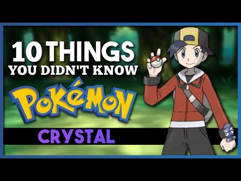 10 Things You Didn't Know About Pokemon Crystal