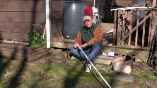 Garden Drip Irrigation Part 2: Trenching, Connecting Pvc Water Supply Line & Fittings