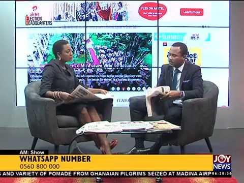 Todays Headlines - AM Show on Joy News (22-8-16)