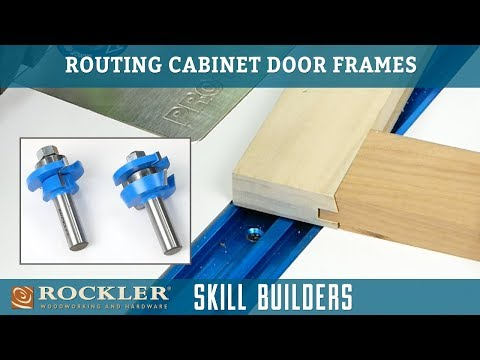 How to Make Cabinet Doors with Rail and Stile Router Bits | Skill Builder