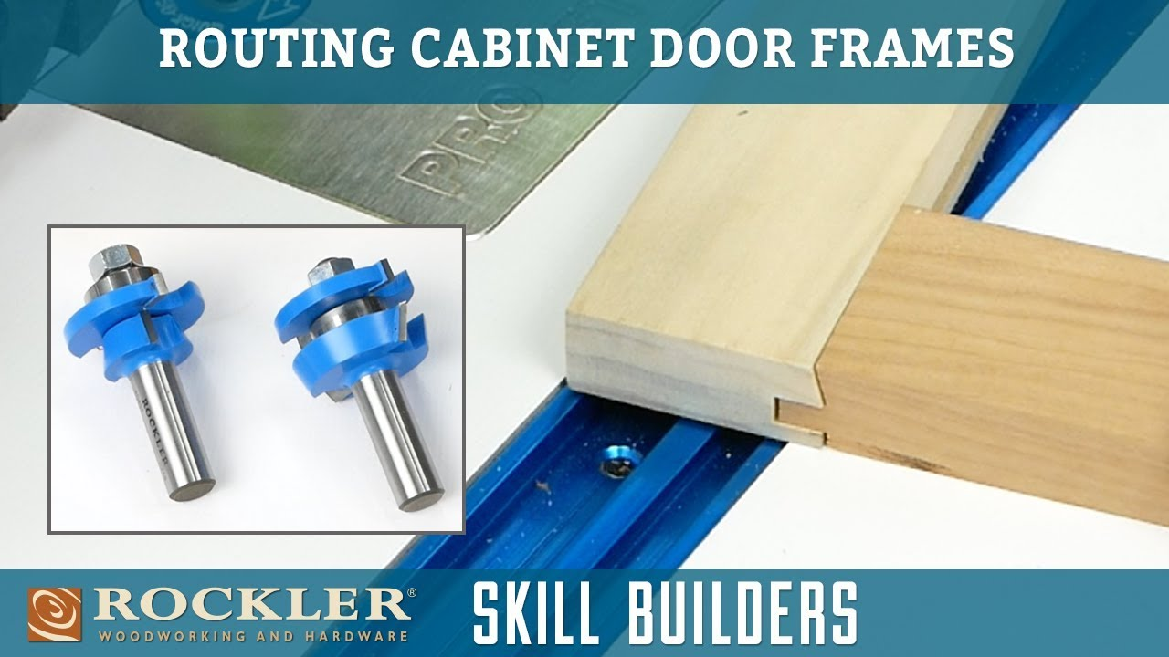 How To Make Cabinet Doors With Rail And Stile Router Bits Skill Builder