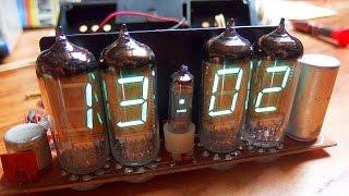 1978 Soviet VFD Clock (nixie style tubes)