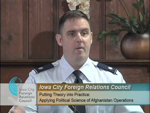 ICFRC: Applying Political Science of Afghanistan Operations