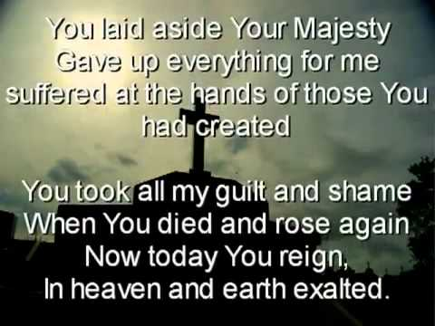 You laid aside Your Majesty.flv