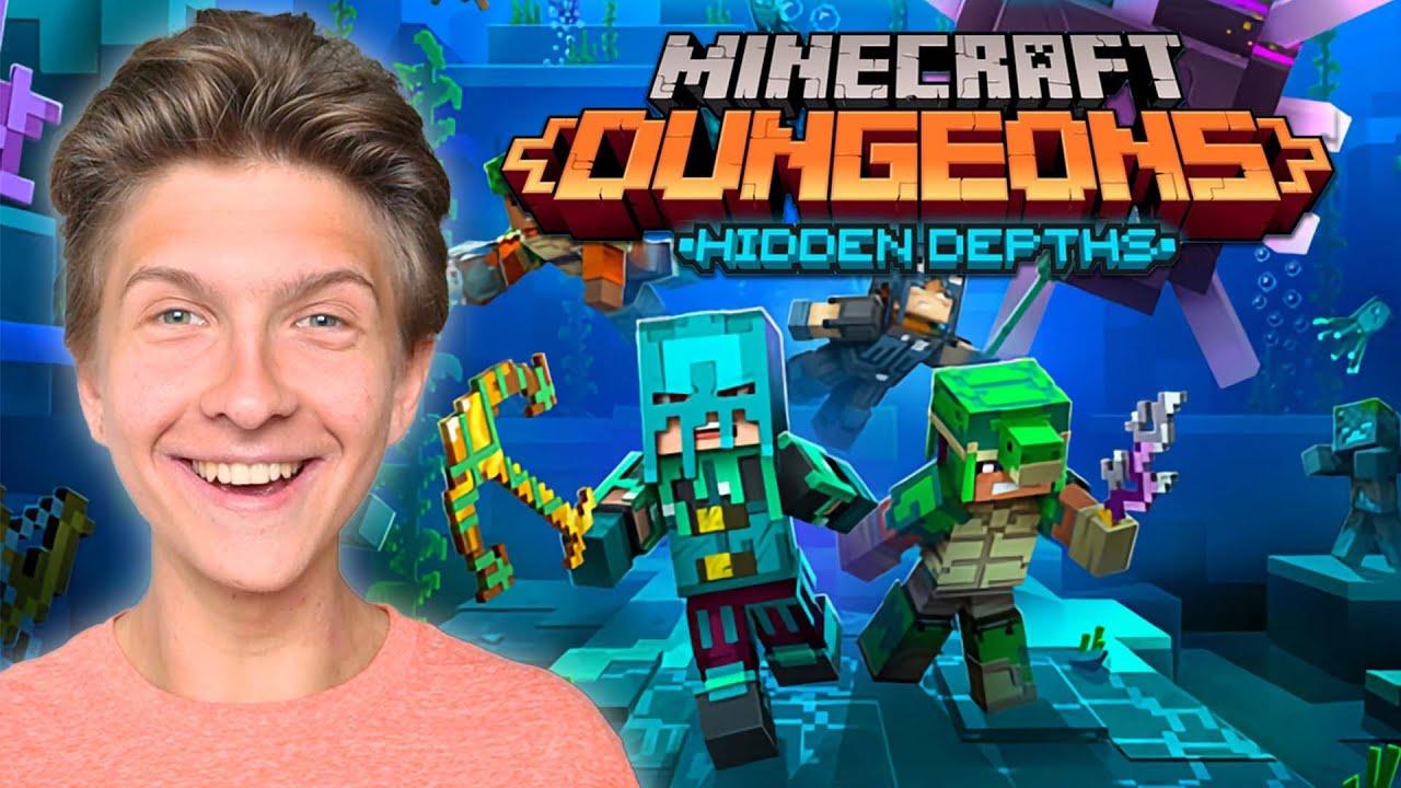 Download Minecraft Dungeons: Hidden Depths DLC - Full Walkthrough!