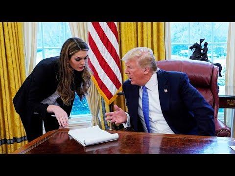 Trump Turning On Close Ally Hope Hicks?
