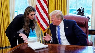 Trump Turning On Close Ally Hope Hicks?