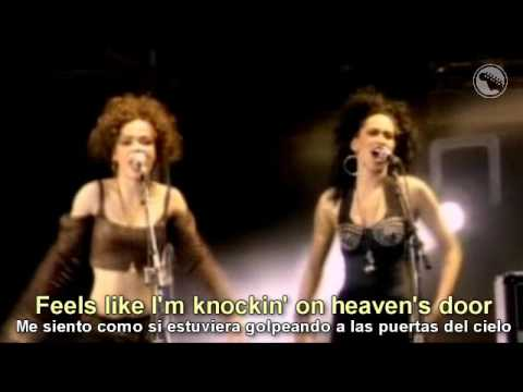 Gun's N' Roses - Knockin On Heavens Door - Subtitulado Español & Inglés