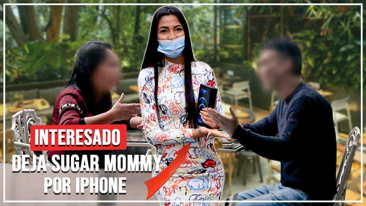 DEJÓ A SU SUGAR MOMMY POR UN IPHONE 😳   CAZANDO INTERESADOS   VITTERI PONCE
