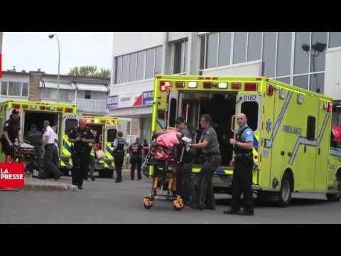 Fusillade dans l'arrondissement LaSalle - 1e juillet 2013 - La Presse - Montreal