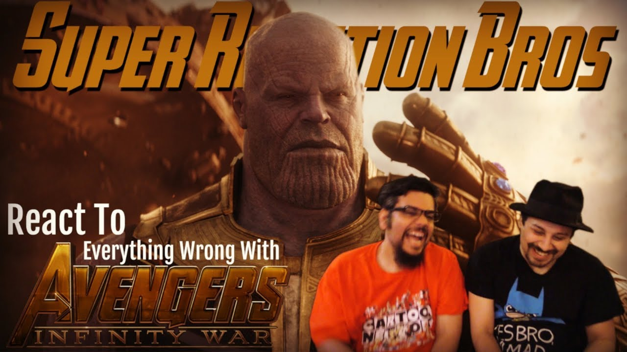 Download SRB Reacts to Everything Wrong With Avengers: Infinity War