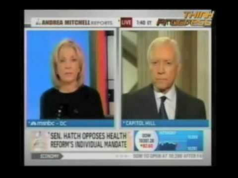 MSNBC Nails Senator Hatch On Spending Hypocrisy