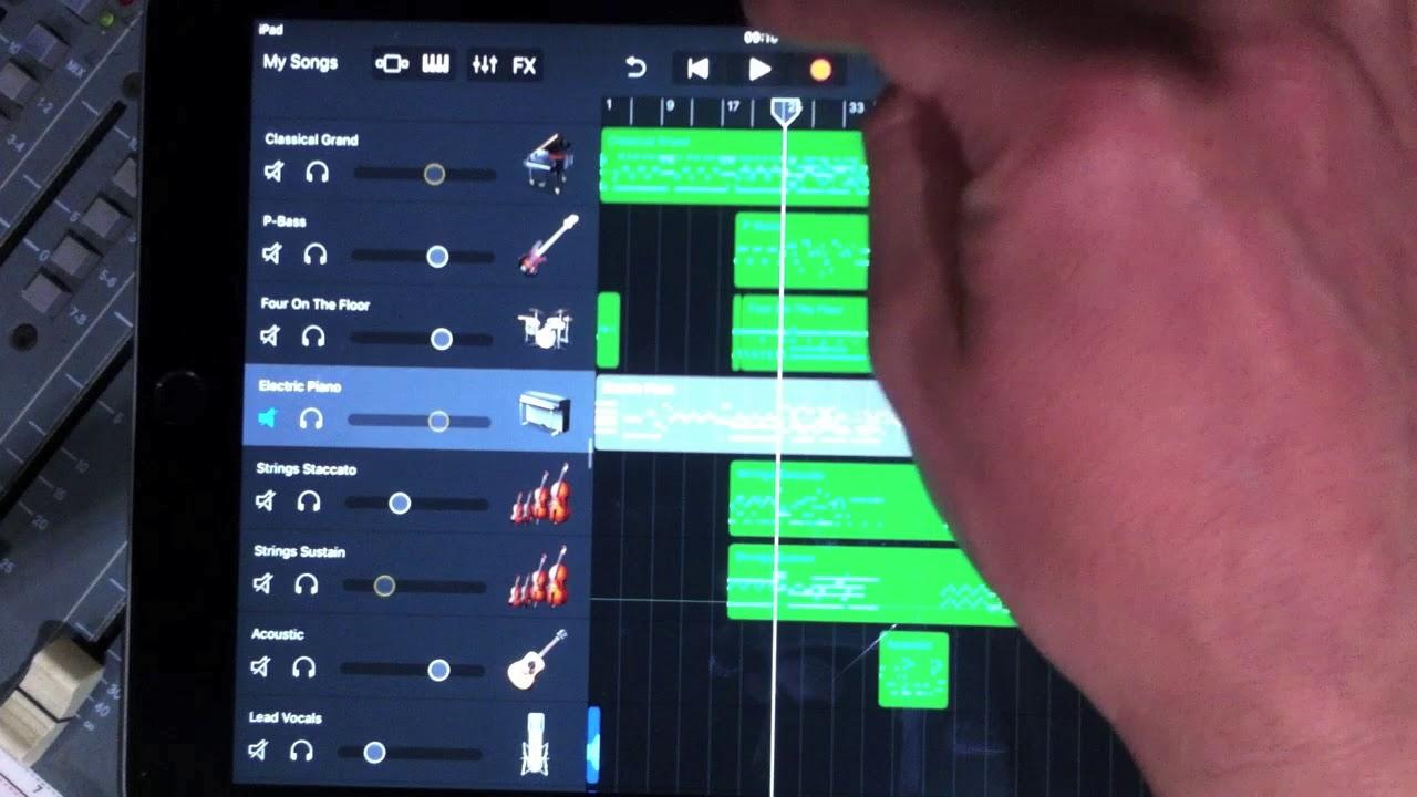 Basic audio recording updated garageband tutorial ios 11 youtube.