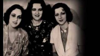 The Boswell Sisters - The lonesome road (1934).wmv