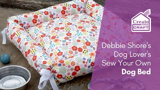 Debbie Shore's DIY Dog-Lover's Dog Bed Sewing Project
