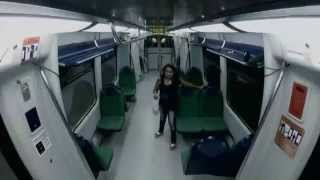 Amazing Zombie Prank On The Train