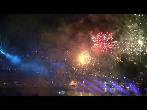 Sydney Opera after Gala New Year's Eve 2018